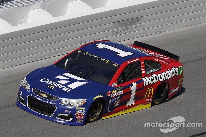 Unfall: Jamie McMurray, Chip Ganassi Racing, Chevrolet