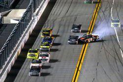 Christopher Bell, Kyle Busch Motorsports Toyota, incidente