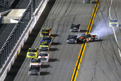 Christopher Bell, Kyle Busch Motorsports Toyota, incidente