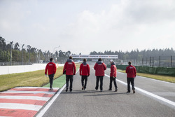 Jamie Green, Audi Sport Team Rosberg, Audi RS 5 DTM pendant le gridwalk