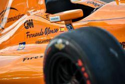 La voiture de Fernando Alonso, Andretti Autosport Honda