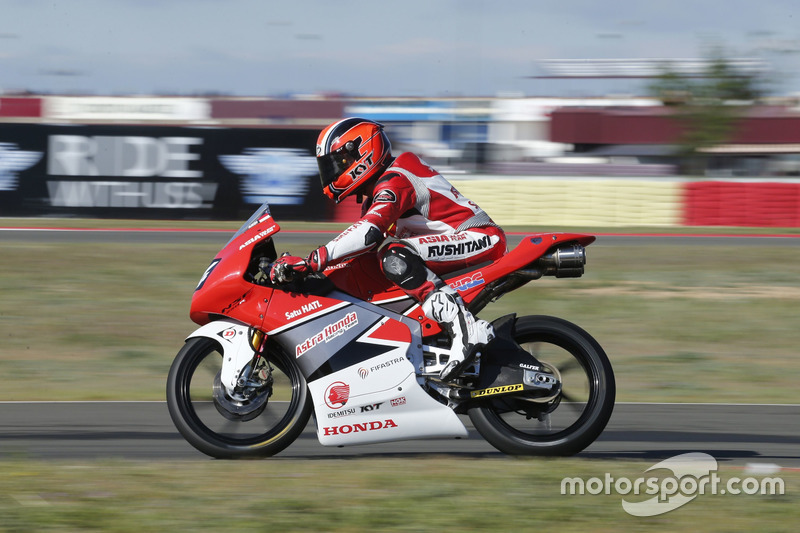 Andi Gilang, Moto3 Junior World Championship