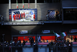 Podium LMGTE Pro: first place Davide Rigon, Sam Bird, AF Corse, second place James Calado, Alessandr