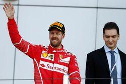 Le deuxième, Sebastian Vettel, Ferrari