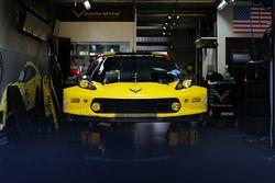 Corvette Racing team area