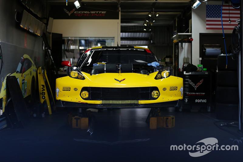 В расположении команды Corvette Racing