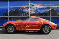 Rebellion Racing vintage car