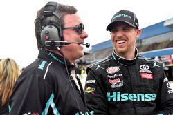 Denny Hamlin, Joe Gibbs Racing Toyota ve Chris Gabehardt