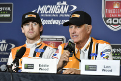 Ryan Blaney, Wood Brothers Racing Ford conferenza stampa, presentazione della vettura