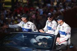 Joey Hand, Tony Kanaan, Dirk Müller, Ford Chip Ganassi Racing