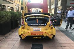 Sébastien Carron, Ford Fiesta R5, D-max Swiss