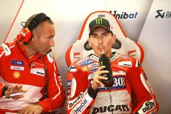 Jorge Lorenzo, Ducati Team, et Christian Gabarrini