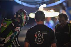 #8 Bolliger Team Switzerland, Kawasaki: Horst Saiger, Roman Stamm, Michael Savary