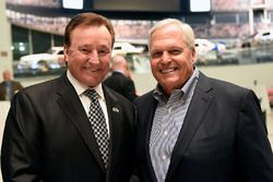NASCAR Hall of Fame inductees Richard Childress and Rick Hendrick