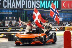 Tom Kristensen und Petter Solberg, Team Nordic
