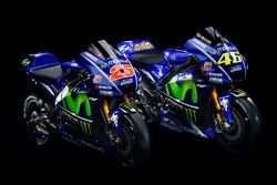 Bike of Valentino Rossi, Yamaha Factory Racing, Maverick Viñales, Yamaha Factory Racing