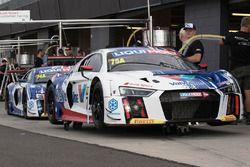 #75 Jamec Pem Racing Audi R8 LMS, #74 Jamec Pem Racing Audi R8 LMS,