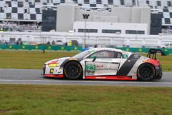 №23 Alex Job Racing Audi R8 LMS GT3: Билл Суидлер, Пьер Каффер, Таунсенд Белл, Фрэнки Монтекальво