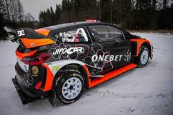 Мадс Остберг и Ола Флене, Ford Fiesta WRC