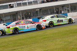 Tom Ingram, Speedworks Motorsport, Toyota Avensis; Rob Austin, Handy Motorsport, Toyota Avensis