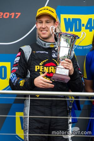 Podium: third place David Reynolds, Erebus Motorsport Holden