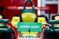 Green Light sign on a ABT Schaeffler Audi Sport car