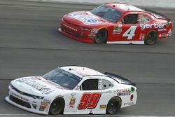 David Starr, BJ McLeod Motorsports Chevrolet, Ross Chastain, JD Motorsports Chevrolet