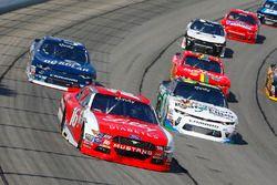 Ryan Reed, Roush Fenway Racing Ford e Blake Koch, Kaulig Racing Chevrolet
