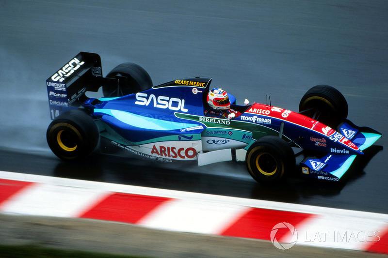 4. Рубенс Барикелло – 22 года 3 месяца 5 дней (Гран При Бельгии 1994 года, Jordan)