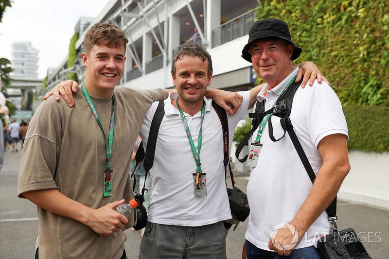 James Sutton, Mirko Stange, Fotógrafo y Kym Illman, fotógrafo