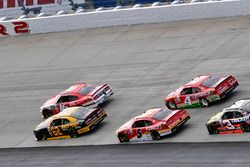 Ryan Reed, Roush Fenway Racing Ford, Brendan Gaughan, Richard Childress Racing Chevrolet, Michael An