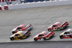 Ryan Reed, Roush Fenway Racing Ford, Brendan Gaughan, Richard Childress Racing Chevrolet, Michael An