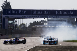 Sam Bird, DS Virgin Racing and Antonio Felix da Costa, Amlin Andretti Formula E Team