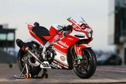 Julian Simon, Milwaukee Aprilia World Superbike Team'in motosikleti