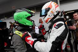Race winner Davit Kajaia, GE-Force, Alfa Romeo Giulietta TCR con Ferenc Ficza, Zele Racing, SEAT Leó