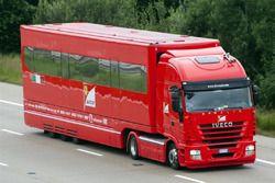 Моторхоум, который Ferrari использовала на европейских Гран При с 2003 по 2013 год