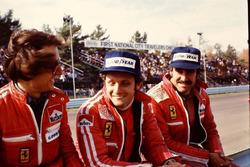 Luca Cordero di Montezemolo, Niki Lauda y Clay Regazzoni