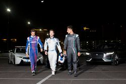 Antonio Felix da Costa, Amlin Andretti Formula E Team, with Sam Bird, DS Virgin Racing, and Mitch Ev