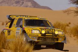 #205 Peugeot: Ari Vatanen, Bernard Giroux