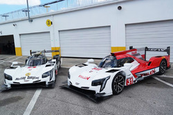 The two Action Express Racing Cadillac DPi-V.R