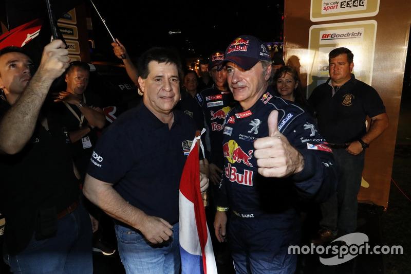 Carlos Sainz, Team Peugeot Sport