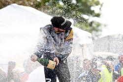 Podium : le troisième James Hinchcliffe, Schmidt Peterson Motorsports Honda