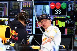 Max Verstappen, Red Bull Racing en Gianpiero Lambiase, Red Bull Racing Race Engineer