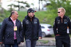 Sergio Perez, Sahara Force India, his Father Antonio Perez Garibay