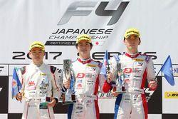 FIA-F4第6戦の表彰台