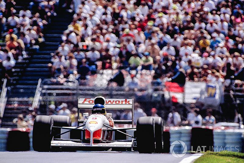 Footwork FA12, à moteur Porsche (1991)