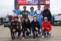 Bruno Senna, Vaillante Rebellion Racing, Mathias Lauda, Aston Martin Racing, Nicolas Prost, Nelson P
