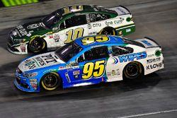 Michael McDowell, Leavine Family Racing Chevrolet, Danica Patrick, Stewart-Haas Racing Ford