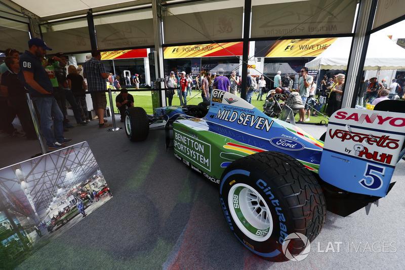 Un Benetton 1994 de Michael Schumacher
