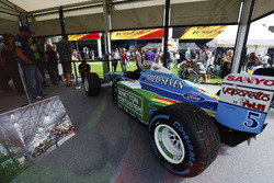 Benetton Ford van Michael Schumacher uit 1994